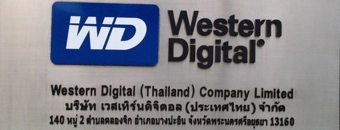 Western Digital (Thailand) Co., Ltd. is one of M-TH-18.