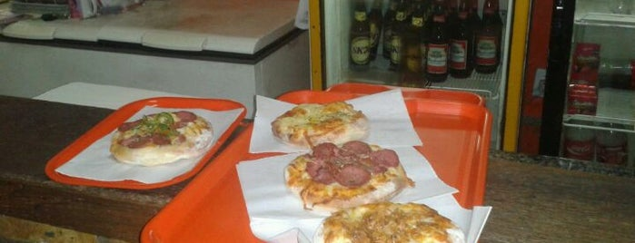 Pizzinha is one of Favorite food/drink places in Porto Alegre, Brasil.