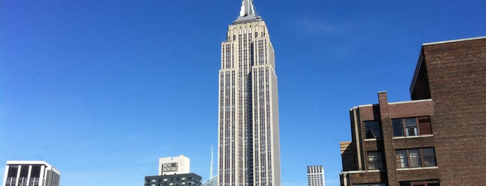 Empire State Building is one of NYC I see.