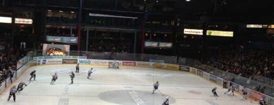 Espoo Metro Areena is one of JYM Hockey Arenas TOP100.