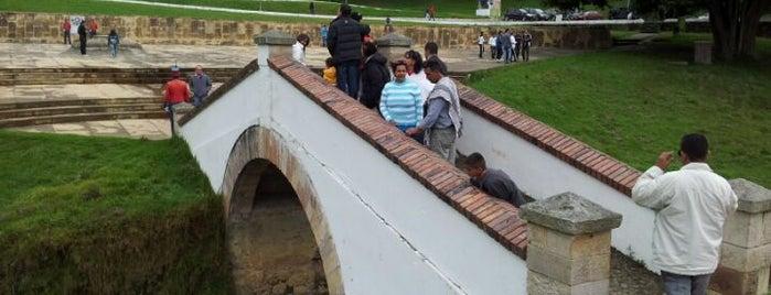 Puente de Boyaca is one of Lugares en Colombia!!!! :D.
