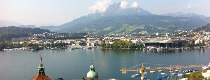 Art Deco Hotel Montana is one of 36 hours in... Lucerne.