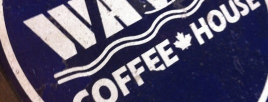 Waves Coffee House is one of Coffee Shops for Meetings.