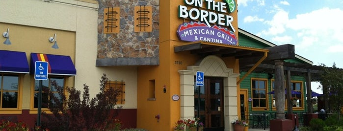 On The Border Mexican Grill & Cantina is one of Viddles.