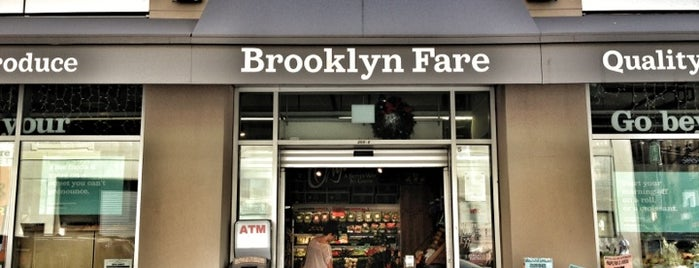 Brooklyn Fare is one of Nyc.