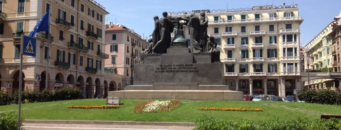 Piazza Mameli is one of Savona - Far from common places.