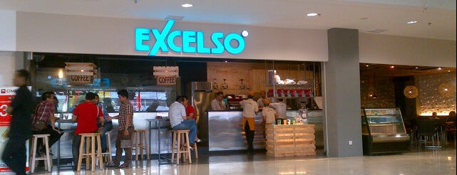 Excelso® Cafe is one of places.