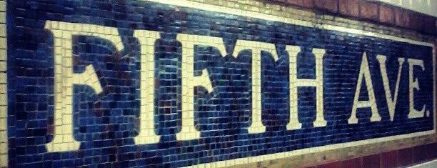 MTA Subway - 5th Ave (N/R/W) is one of MTA Subway - N Line.