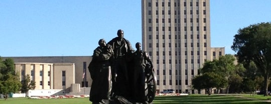 North Dakota State Capitol is one of The Crowe Footsteps.