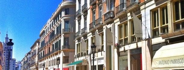 Marqués de Larios Street is one of 101 cosas que ver en Málaga antes de morir.