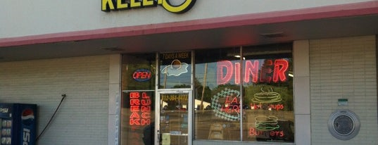 Kelly-O's Diner is one of Diners, Drive-Ins & Dives.