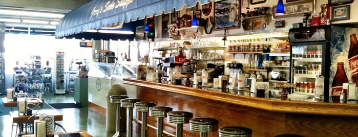 Jerry's Soda Shoppe at De Soto Pharmacy is one of Chris' LA To-Dine List.