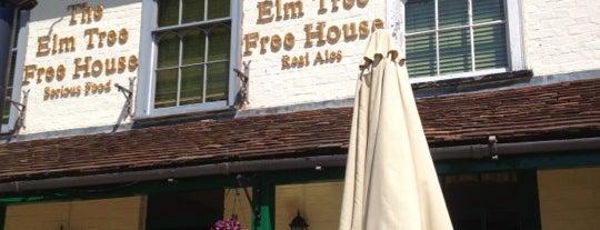 The Elm Tree is one of 20 favorite restaurants.
