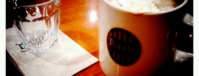 TULLY'S COFFEE 梶ヶ谷店 is one of 東急沿線 Cafe・カフェ・喫茶店.