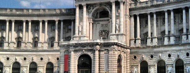 Österreichische Nationalbibliothek is one of StorefrontSticker #4sqCities: Vienna.