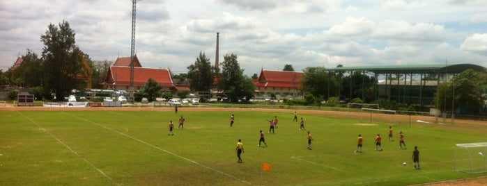 Nonthaburi Province Stadium is one of ราชการ.