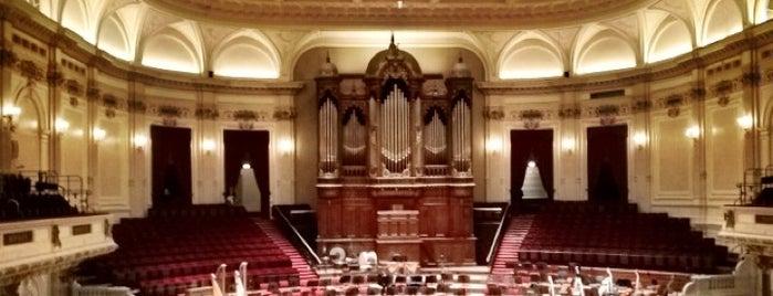 Het Concertgebouw is one of My favorites in Amsterdam.