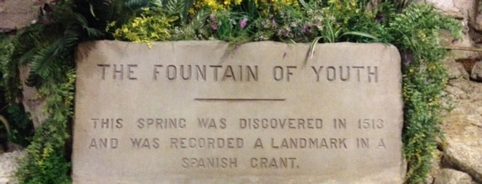 The Fountain Of Youth Archaeological Park is one of Road Trip Bucket List with Midlife Road Trip.