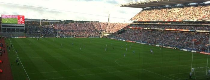 Croke Park is one of Dublin.