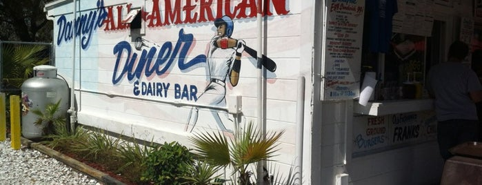 Danny's All American Diner & Dairy Bar is one of Triple D Restaurants.