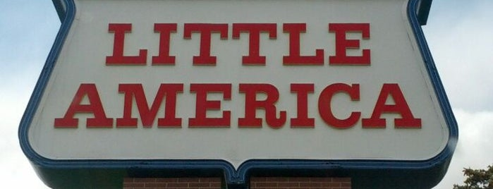 Little America Travel Center is one of Q. A Q AC.
