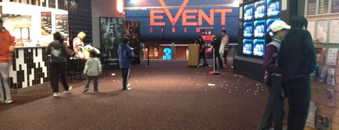 eVent Cinemas is one of Event Cinemas Locations.
