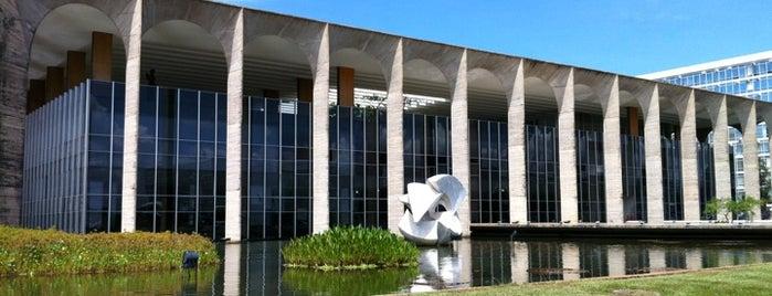 Palácio Itamaraty is one of Brasília.