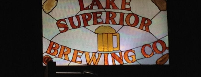 Lake Superior Brewing Co. is one of Michigan Breweries.