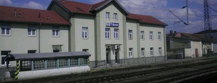 Železniční stanice Tišnov is one of Železniční stanice ČR: Š-U (12/14).