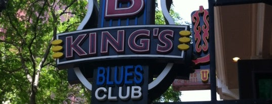 B.B. King's Blues Club is one of Nashville.