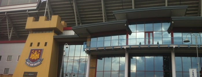 Boleyn Ground (Upton Park) is one of Football grounds in and around London.