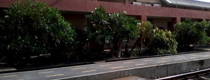 สถานีรถไฟหัวหมาก (Hua Mak) SRT3010 is one of ถนน.