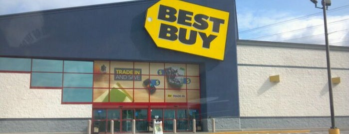 Best Buy is one of Love to go.