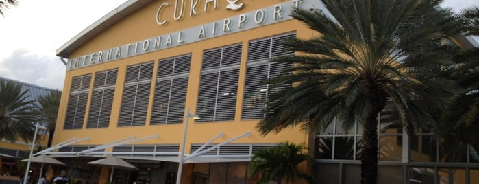 Curaçao International Airport (CUR) is one of Caribbean Airports.