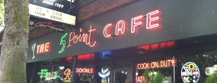The 5 Point Cafe is one of #2daysinSeattle.