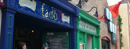 Fadó Irish Pub & Restaurant is one of Speakmans SXSW Venues in Austin.