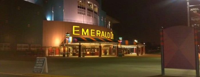 Emerald Downs is one of Seattle spots.