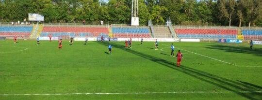 Ligeti stadion is one of Stadionok.