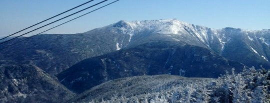 Cannon Mountain Ski Area is one of My favorites for Ski Areas.