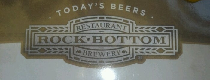 Rock Bottom Restaurant & Brewery is one of Colorado Breweries.