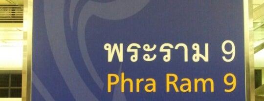 MRT Phra Ram 9 (RAM) is one of MRT.