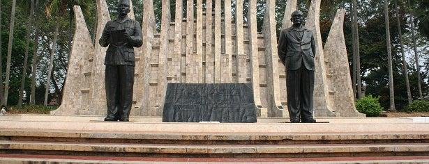 Tugu Proklamasi (Proclamation Monument) is one of Enjoy Jakarta 2012 #4sqCities.