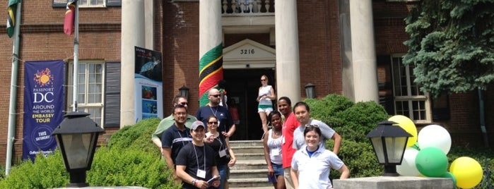Embassy Of Saint Kitts and Nevis is one of Members.