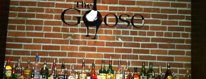 The Goose is one of Aggieville Bars.