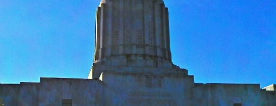 Oregon State Capitol Building is one of The Crowe Footsteps.