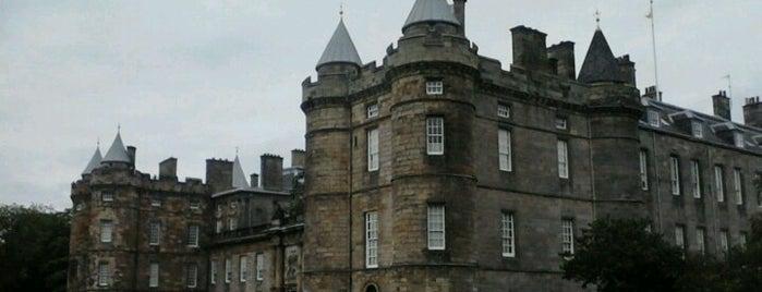 Palace of Holyroodhouse is one of Edinburgh.