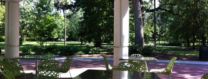 Forsyth Park Cafe is one of Favorite Places I find myself on Auto pilot to..