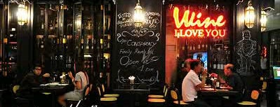 "Wine I Love You is one of "" Nightlife Spots BKK.""."