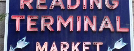 Reading Terminal Market is one of Let's get lost.