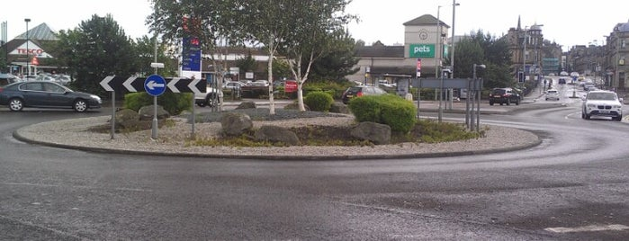 Grahams Road Roundabout is one of Named Roundabouts in Central Scotland.